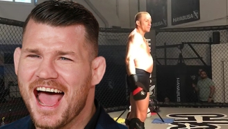 Michael Bisping Has A Take On GSP's New Physique: 'He's Been Impregnated By An Alien'