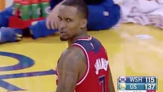 Brandon Jennings Was Disrespected By JaVale McGee's Garbage Time 3-Pointer