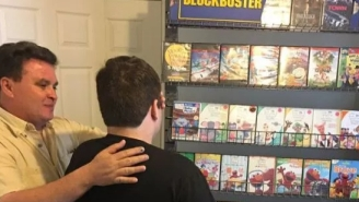 An Autistic Man Was Devastated When His Blockbuster Closed Down, So His Parents Built Him One Of His Own