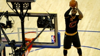 LeBron James Turned To A Trusted Teammate To Work On His Free Throw Form