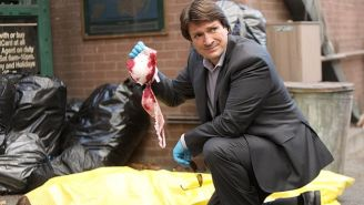 'Brooklyn Nine-Nine' Lets Nathan Fillion Spoof Himself In 'Serve & Protect'