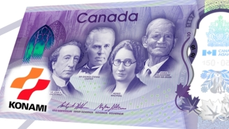 The Bank Of Canada Hid A Surprise In Their Announcement Of Their New $10 Bill Using The Konami Code