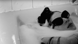 Caroline Polachek Wears Sunglasses In The Bath For Chairlift's 'Polymorphing' Video