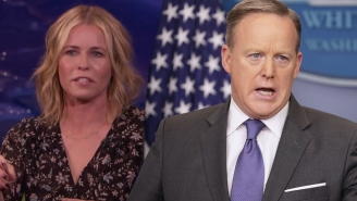 Chelsea Handler Isn't Buying Sean Spicer's Hitler Apology: 'He Can't Possibly Be That Stupid Naturally'