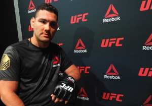 UFC Title Contender Chris Weidman Recalls The Time He Pooped Himself From Head To Heel