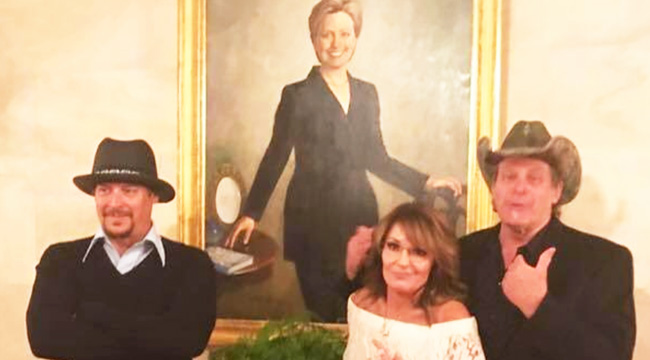 Ted Nugent's White House Visit Was A Classy One