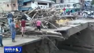 A Devastating Mudslide In Colombia Has Left 254 Dead And Hundreds Missing Or Injured
