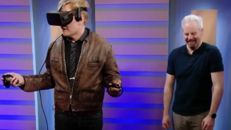Conan's Wishes For Oculus Rift Lovemaking Are Dashed Again In A Ridiculous 'Clueless Gamer'