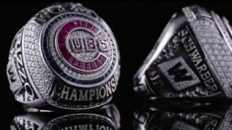 A Goat And 108 Gems Highlight The Chicago Cubs' Ridiculous World Series Ring