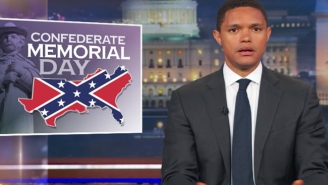 Trevor Noah Tries To Wrap His Head Around Confederate Memorial Day On 'The Daily Show'
