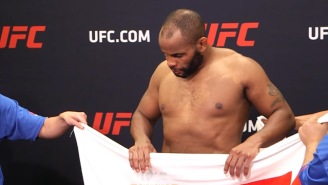 Daniel Cormier Pulled Some Shady Biz At At The UFC 210 Weigh-Ins And The MMA World Is Not Impressed