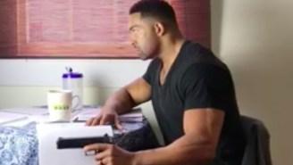 Watch WWE Superstar David Otunga Go Through A Vigorous 'Motherf*cka' Acting Lesson