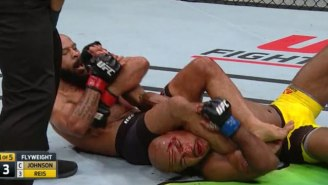 Mighty Mouse Johnson Ties Anderson Silva's UFC Title Defense Record With A Brilliant Performance