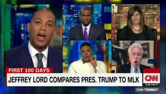 Watch Don Lemon Absolutely Lose It On Jeffrey Lord Over That Dumb MLK Remark