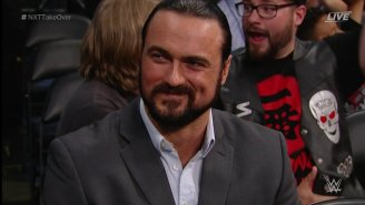 Drew McIntyre Made A Surprise Return To WWE at NXT TakeOver: Orlando