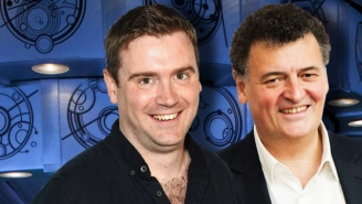 Steven Moffat And Brian Minchin On Not Wanting To Leave Their Mark On 'Doctor Who'