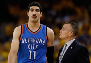 Billy Donovan Tried To Explain His 'Can't Play Kanter' Quote From Game 1