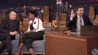 Leslie Jones Manages To Fluster Jimmy Fallon With A Perfect 'Nuts' Joke