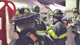 A Transit Train Derailed At Penn Station For The Second Time In Two Weeks