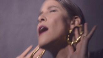 Feist's Distorted 'Pleasure' Video Is A Thrum Of Weird Intimacy
