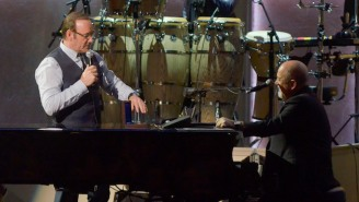 Billy Joel And Kevin Spacey Pull Focus From Your Coachella Gawking For A 'New York State Of Mind' Duet