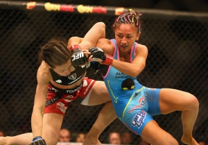 UFC Fighter Carla Esparza Punched A Fan In The Face At His Request