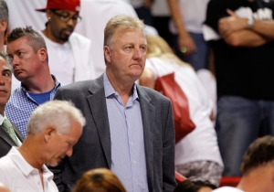 Larry Bird Is Reportedly Stepping Down As Indiana Pacers President