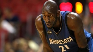 Kevin Garnett Is Still Disappointed He Wasn't Able To Buy The Timberwolves