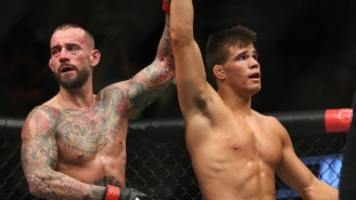 Mickey Gall Shows Off The Secret Disgusting Cut He Suffered Before His Victory Over CM Punk