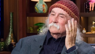 David Crosby Really, Really Doesn't Like Punk Rock: It Has 'No Musical Value At All'