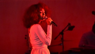 Solange Wins The 'Artist Of The Year' Webby Award For 'Promoting Community And Diversity'