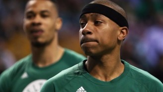 Isaiah Thomas Delivered An Inspirational Performance One Day After His Sister's Death