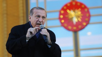 Turkish President Recep Tayyip Erdogan: My Virtually Unchecked Power Doesn't Make Me A Dictator
