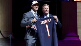 The Bears Traded Up One Spot To Select Mitchell Trubisky, And Everyone Was Stunned