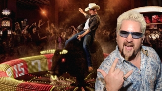 Guy Fieri Is Bringing His Brand Of Restaurant To South Africa, Complete With A Mechanical Bull For Some Reason