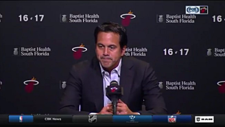 Erik Spoelstra Could Not Have Been Sadder After The Heat Missed The Playoffs