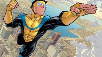 Seth Rogen Has Plans To Adapt 'The Walking Dead' Creator's Superhero Book, 'Invincible,' Into A Movie