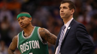 Isaiah Thomas Believes Brad Stevens Is 'By Far' The NBA's Best Coach