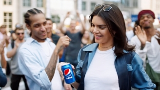 A Protester With A Pepsi Tried To Pull A Kendall Jenner During A City Council Meeting