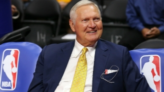Jerry West Thinks It's Time For Someone Else To Become The NBA's Logo