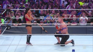 John Cena Finally Popped The Question To Nikki Bella After Their WrestleMania 33 Match