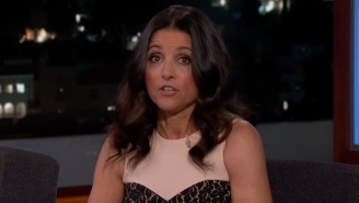 Julia Louis-Dreyfus Says Mitt Romney Taught The 'Veep' Creators About 'What It's Like To Lose'