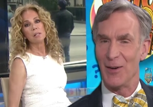 Why Is Kathie Lee So Annoyed At Poor Bill Nye The Science Guy During His 'Today Show' Appearance?