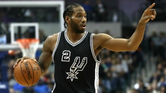 A Spurs Fan Is Suing Zaza Pachulia And The Warriors Over The Kawhi Leonard Injury