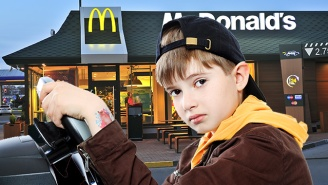 Heroic 8 Year Old Learns To Drive On YouTube And Heads Straight To McDonald's