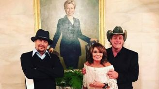Kid Rock, Sarah Palin, And Ted Nugent Visited Donald Trump In The Oh-So-White House