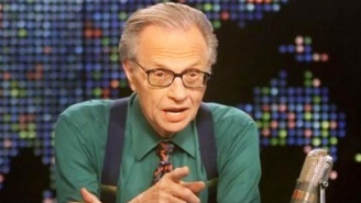 Longtime Trump Friend Larry King Calls This 'One Of The Most Ridiculous Presidencies I've Ever Seen'