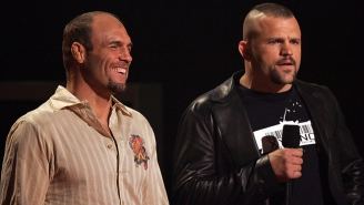 Randy Couture Vs. Chuck Liddell 4 Went Down At A Gym Over The Weekend