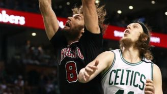 Kelly Olynyk Is At It Again, And He Put Robin Lopez In An Armbar