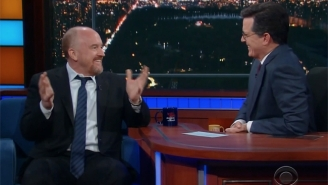 Stephen Colbert Shares A Touching, Funny Moment With His Former Boss, Louis C.K.